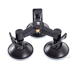 Mounts dji triple mount suction cup base for osmo cp.zm.000280